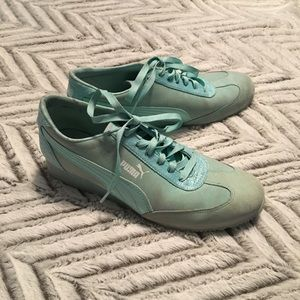 Puma Mint Green Sneakers